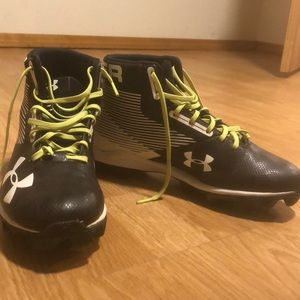 Used pair of football cleats